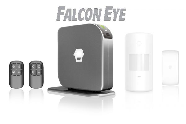 Комплект GSM сигнализации FE Simple Falcon Eye (FE-GSM-light) с SIM, Falcon Eye